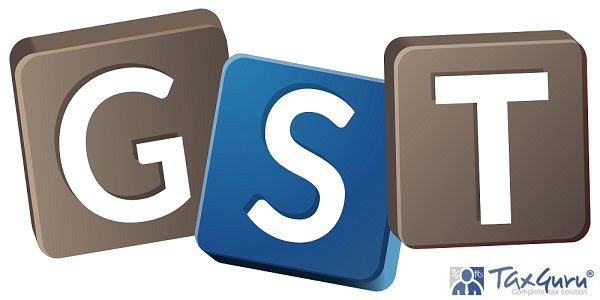 Government Tax - GST - Illustration as EPS 10 File