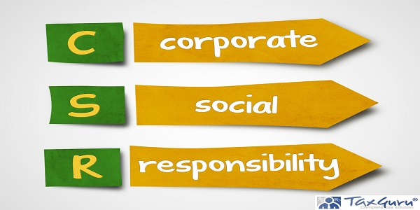 Illustration of sticky note of abbreviation csr corporate social responsibility