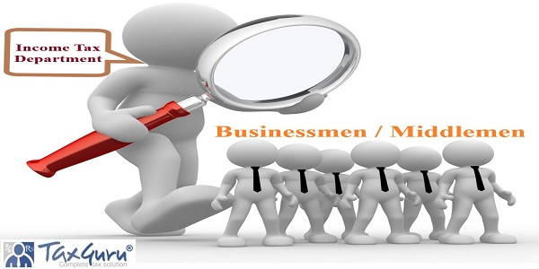 Income Tax Department conducts searches on certain businessmen/middlemen in Maharashtra