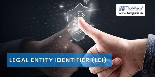 Legal Entity Identifier (LEI)