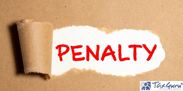 penalty of the word on paper