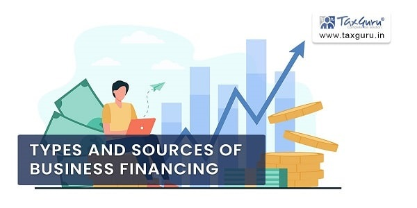 Types And Sources of Business Financing