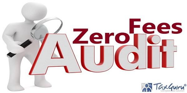 Zero Audit Fees